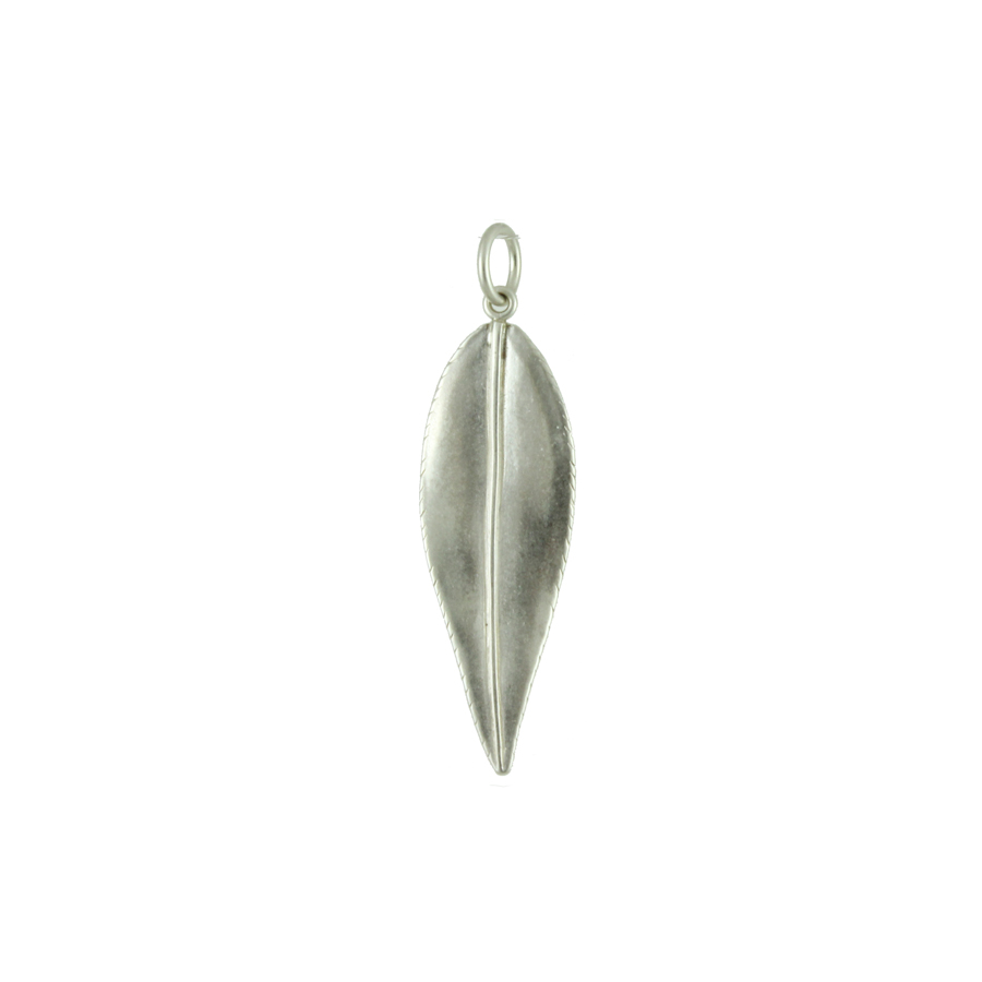Small Willow Leaf Charm