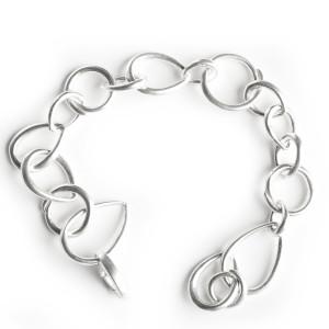 Handmade jewelry Classic Silver Link Bracelet
