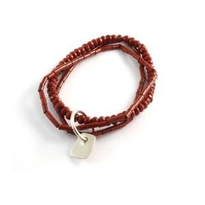 Red Jasper Trio of Bracelets