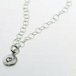 Pebble Heart Bracelet