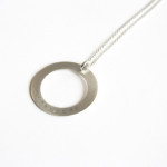 Slim Halo Necklace