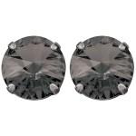 black_diamond_-_stud_earring_-_silver