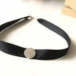 Grosgrain-Ribbon-Choker