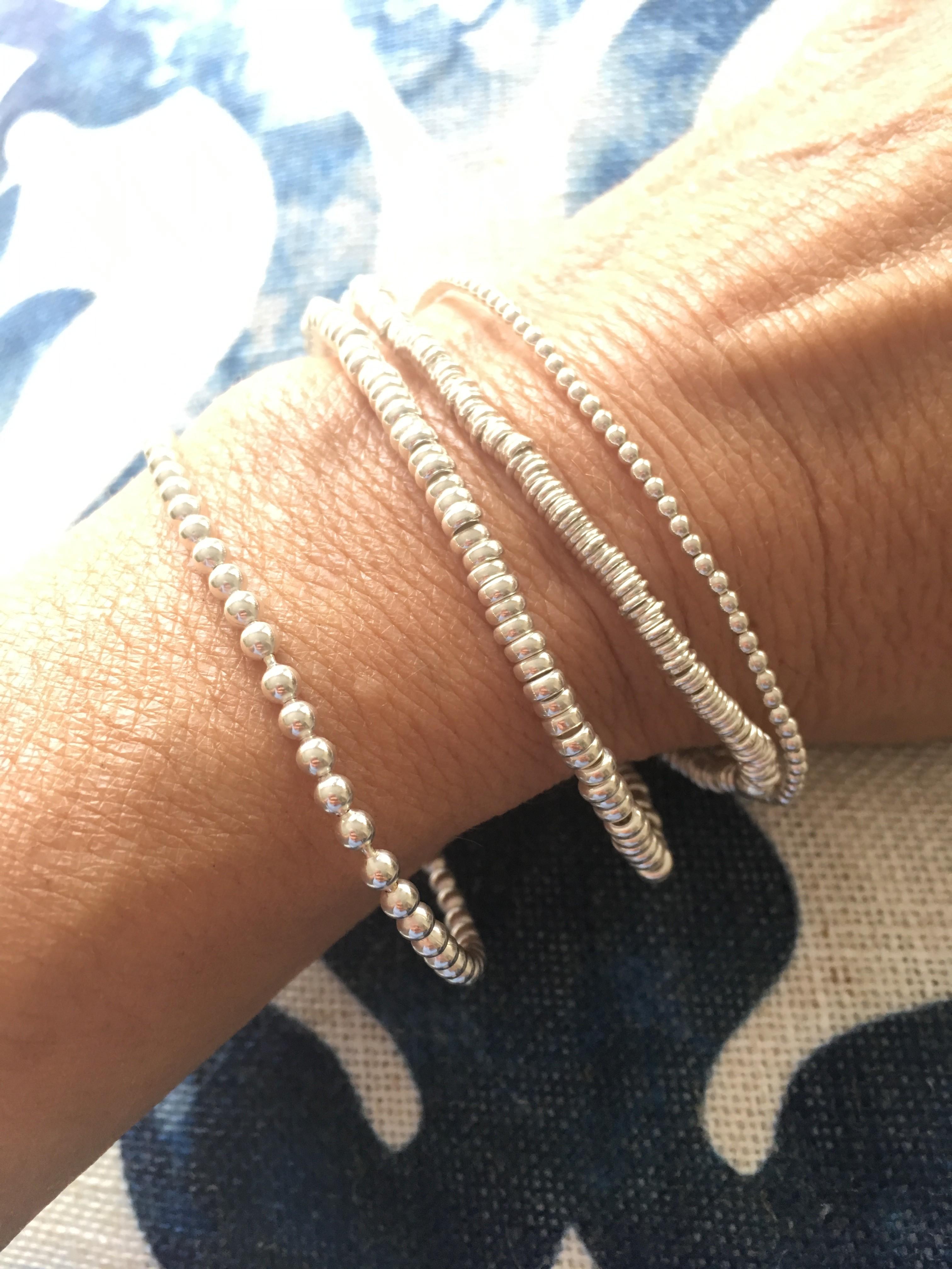 Sterling Tiffany Rings Bracelet