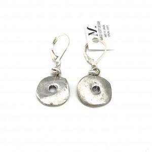 Rustic-disc-earrings