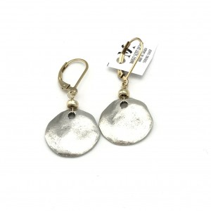 Rustic-pebble-earrings-gold