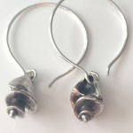 Rustic-seashell-earrings