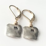 Rustic-square-coin-gold-earrings