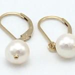 Pearl-Gold-Earring