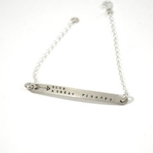 Arrow-Horizontal-Bar-Bracelet