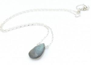 Labradorite-Solitaire-necklace