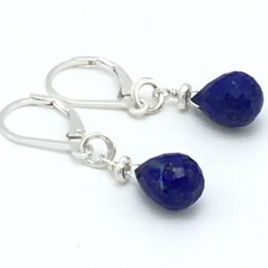 Lapis-Briolette-Earrings