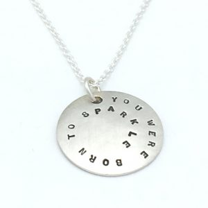 Domed-Circle-necklace