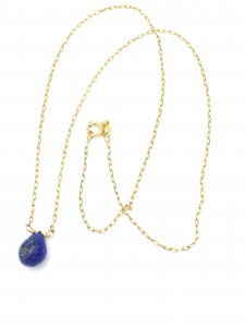 Lapis-Briolette-necklace