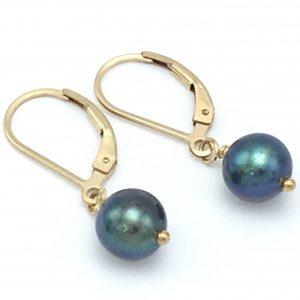 Peacock-pearl-danglies