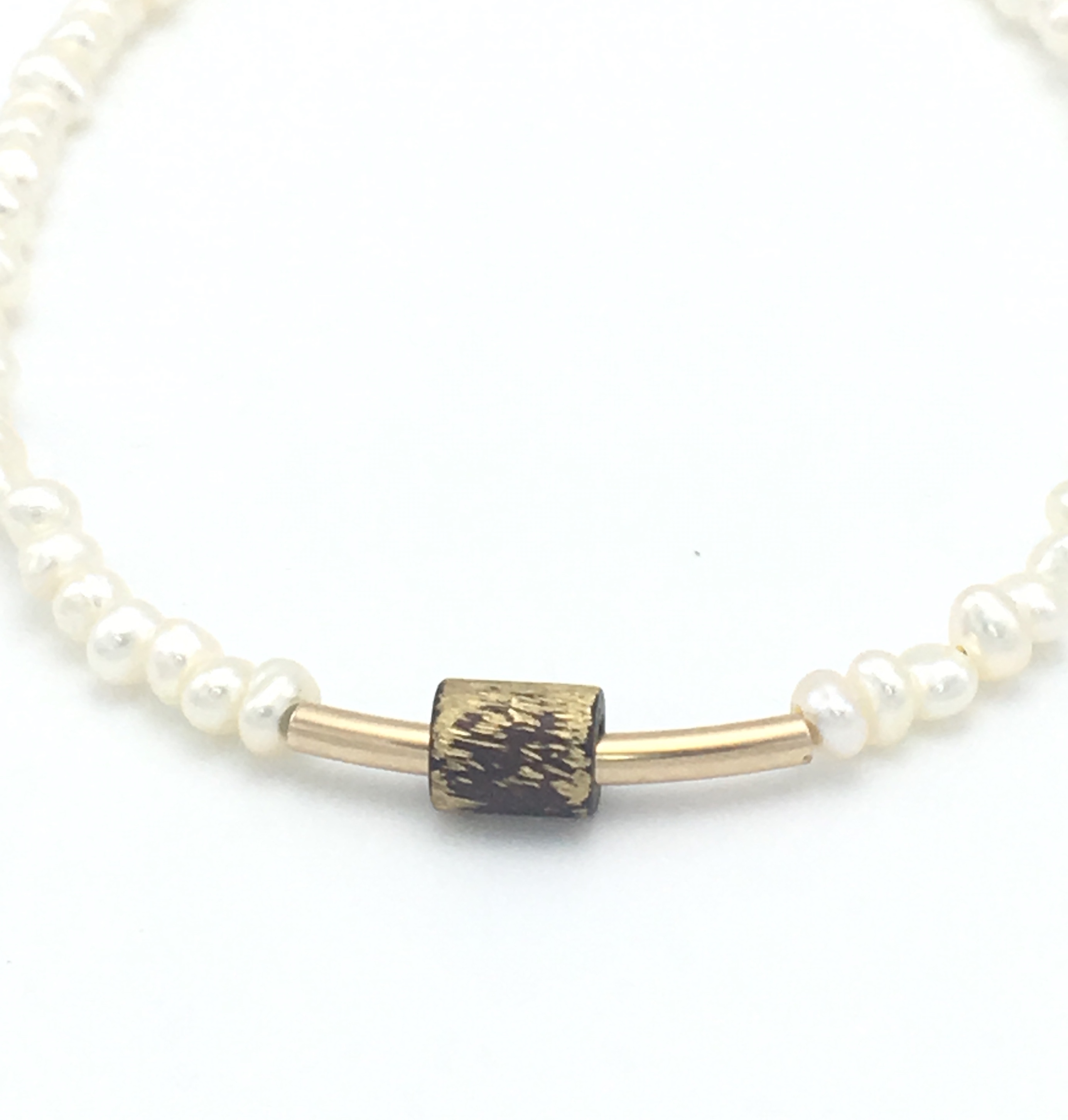 core and white sea bangle titanium pearls or south loop w allure single yellow gold product pearl