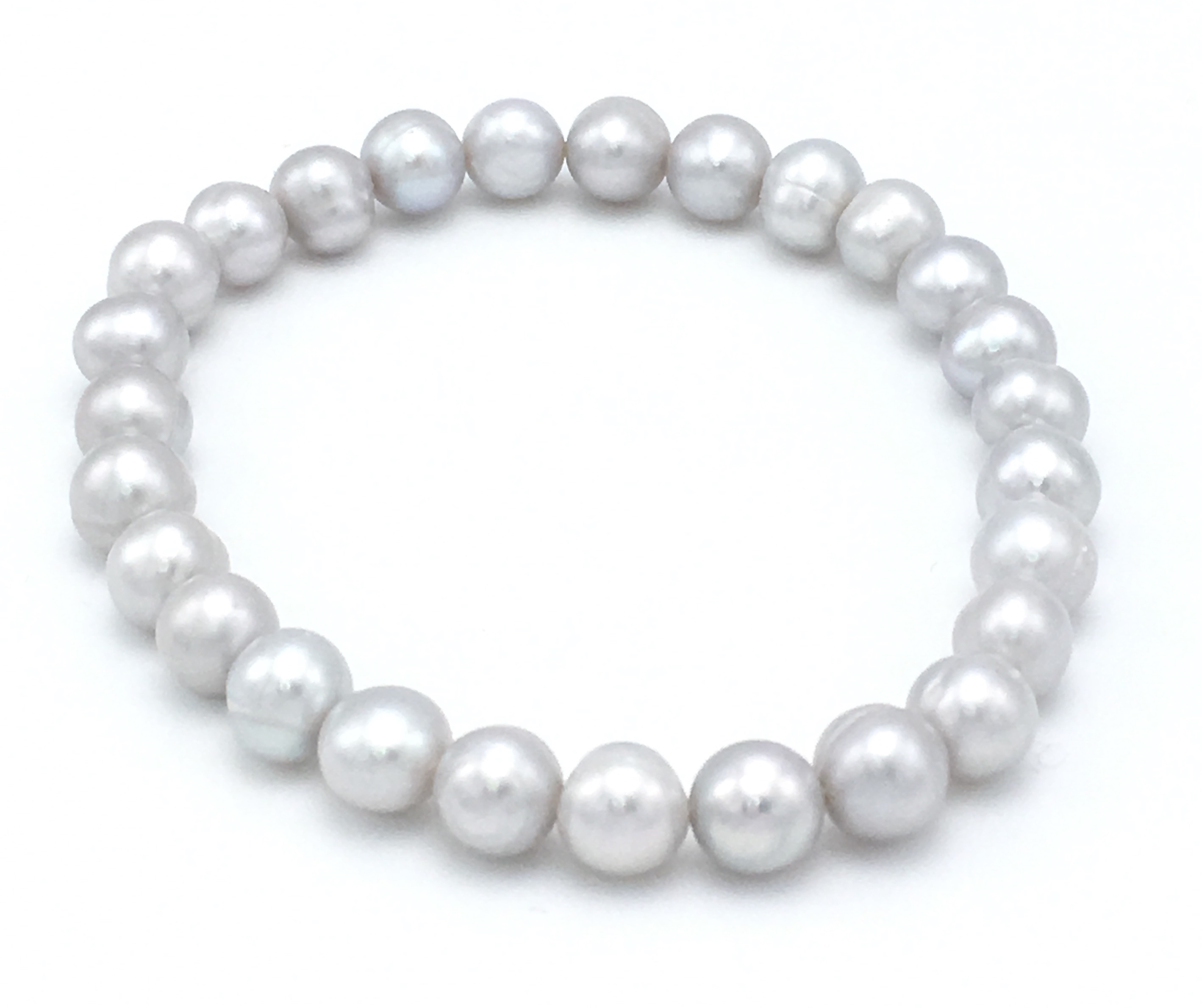 anklet thin ball plated with stretch product bracelet bst silver and