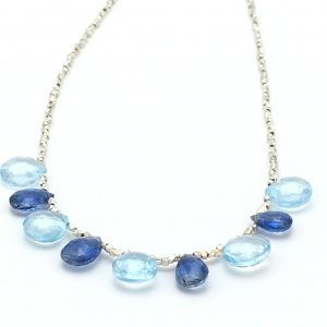 Gemstone-Teardrops-Necklace