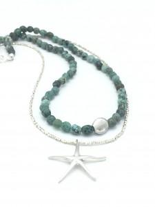 Turquoise-seastar