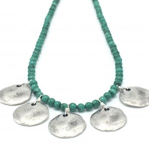 Elemental-Necklace-Malachite