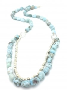 Minimalist-Larimar-Necklace
