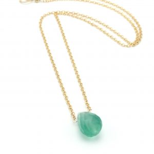Dewdrop-green-onyx-necklace