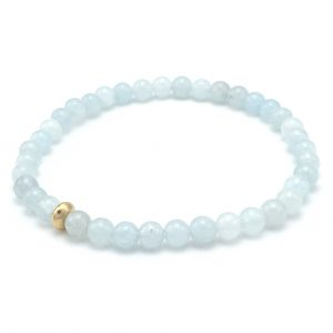 Aquamarine-gold-dot-bracelet