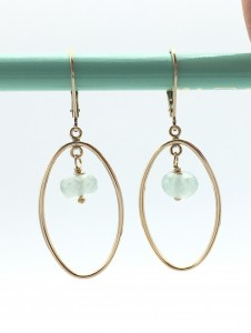 Peruvian-chalcedony-gold-earrings