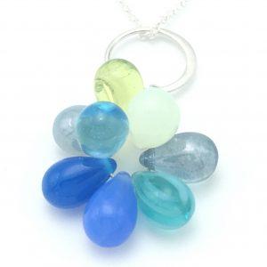Blue-bubbles-closeup
