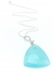 Chalcedony-triangle-necklace