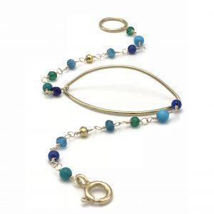 Gem-Chain-marquis-bracelet