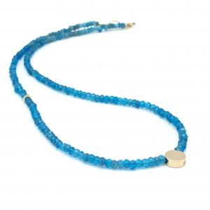 Gold-Dot-Gem-necklace