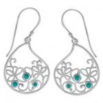 Paisley-floral-earrings