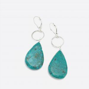 Turquoise-teardrop-geo-earrings