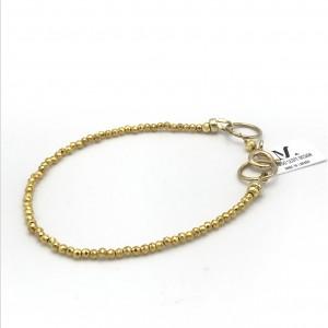 Gold-pyrite-bracelet