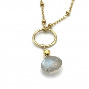 gold-labradorite-charm-necklace-closeup