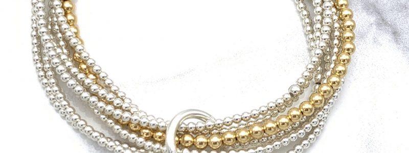 Cinched-bracelet-gold