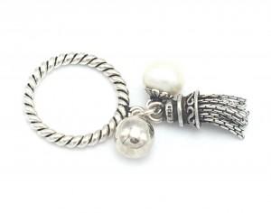 Pearl-Tassel-Ring