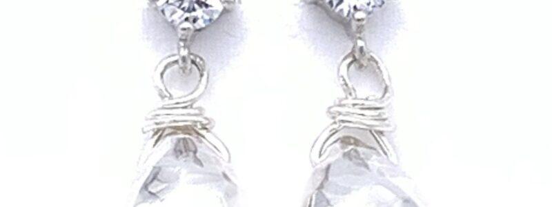 Waterdrop-bling-earrings