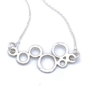 Unique Silver Necklace